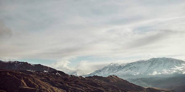 Wall Art - Photograph - Mountain Range, Gara Village, Mustang by Panoramic Images