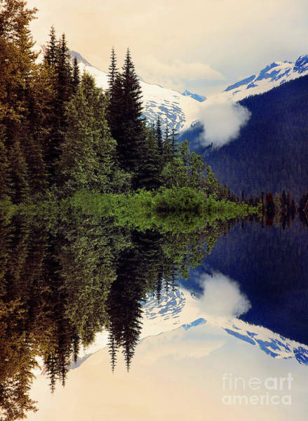 Wall Art - Photograph - Mountain Reflections  by Elaine Manley