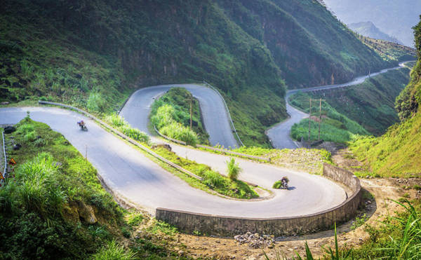 Photograph - Mountain Road Ha Giang by Gary Gillette