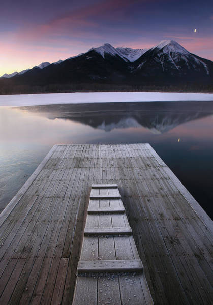 Vermillion Lakes Wall Art - Photograph - Mountain Serenity by Imaginegolf