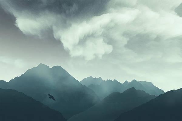 Photograph - Mountain Shapes by Dirk Wuestenhagen