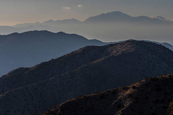 Photograph - Mountain Silhouettes  by Matthew Irvin