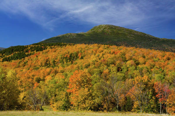 Photograph - Mountain Summit In Fall Colors by Jeff Folger