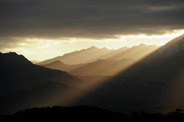 Calvi Photograph - Mountain Sunrise by André Leopold