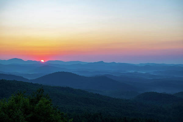 Wall Art - Photograph - Mountain Sunrise by Mary Ann Artz