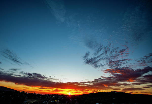 Photograph - Mountain Sunset by Anthony Jones