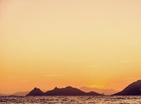 Photograph - Mountain View At Sunset II by Anne Leven