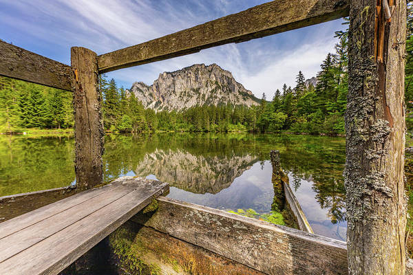 Wall Art - Photograph - Mountain View by Claudia Domenig