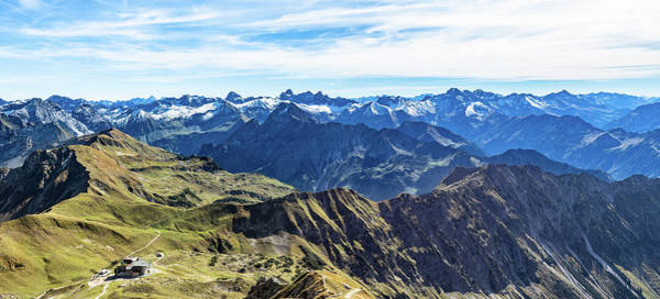Photograph - Mountain View To The Allgaeu Alps by Andreas Levi