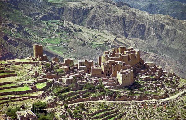 Photograph - Mountain Village In Yemen by Robert Woodward