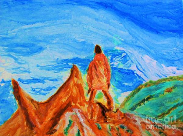Painting - Mountain Vista by Stanley Morganstein