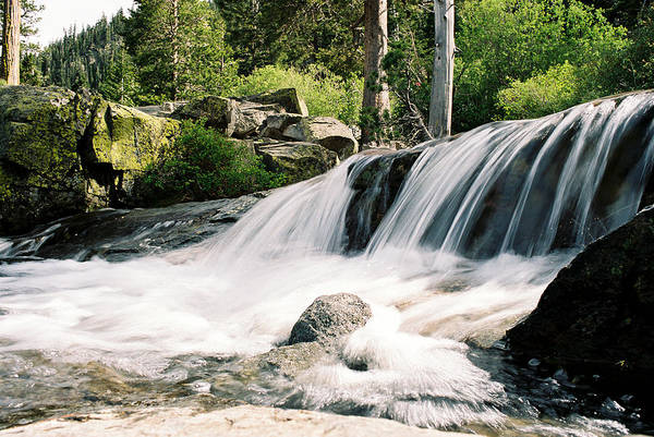 Aspen Photograph - Mountain Waterfall Travel Scenic by Ejs9