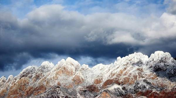 Wall Art - Photograph - Mountain Winter Sky by Barbara Chichester