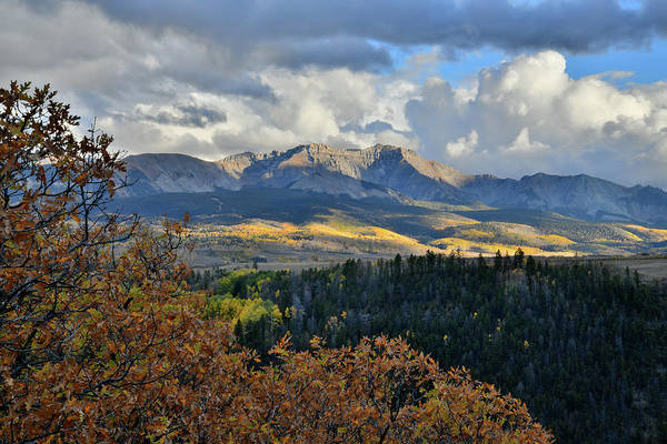 Photograph - Mountains Above Telluride From Last Dollar Road by Ray Mathis