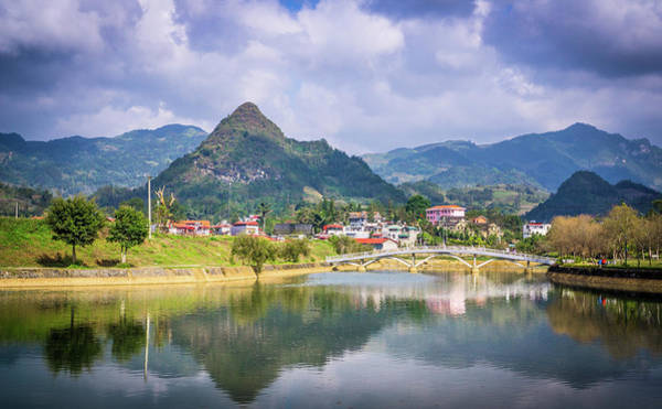 Photograph - Mountains Bac Ha Vietnam by Gary Gillette
