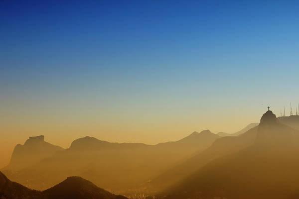 Redeemer Wall Art - Photograph - Mountains Of Rio De Janeiro by Antonello