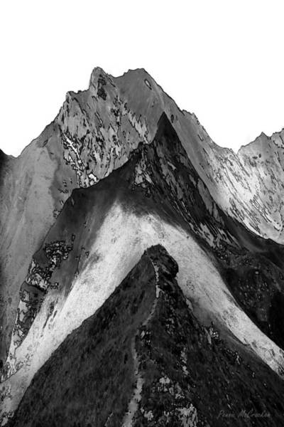 Digital Art - Mountains by Pennie McCracken