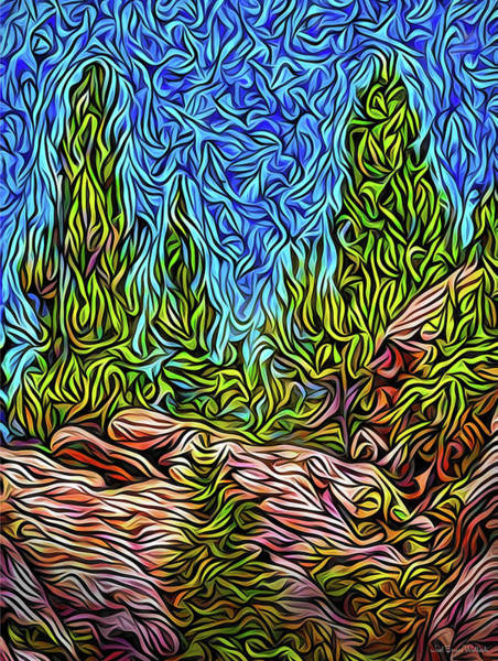 Digital Art - Mountaintop Dreams by Joel Bruce Wallach