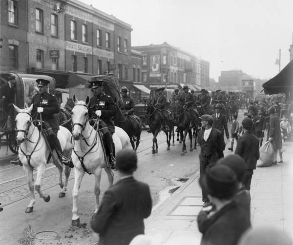 Exhibition Photograph - Mountie Parade by Sasha