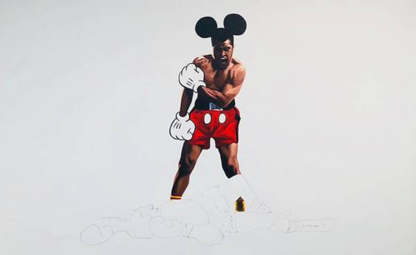 Boxing Mixed Media - Mouse In The House  by Shane Bowden