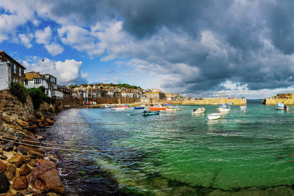 Photograph - Mousehole, Cornwall. Uk. by Maggie McCall