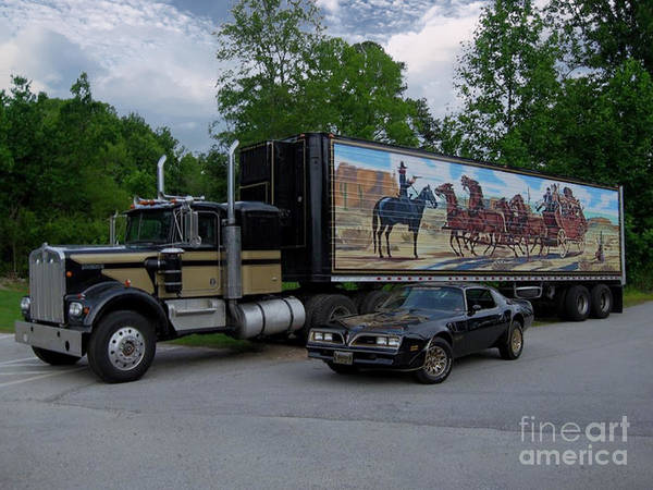 Photograph - Movie Icon - Smokey And Bandit by Dale Powell