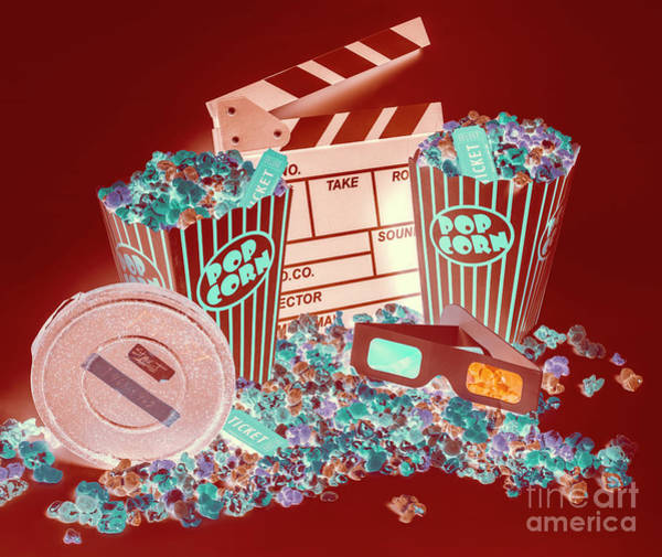 Movie Makers Inc. Art Print