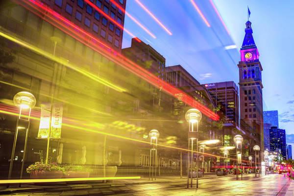 Photograph - Moving Through Denver Colorado by Gregory Ballos