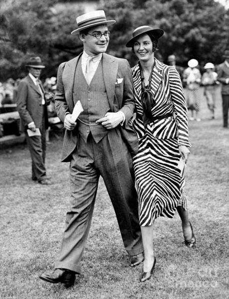Wall Art - Photograph - Mr. And Mrs John Hay Whitney by New York Daily News Archive