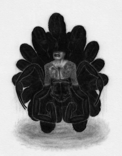 Drawing - Mr Death - Artwork by Ryan Nieves