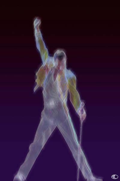 Digital Art - Mr. Fahrenheit by Kenneth Armand Johnson