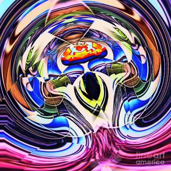 Digital Art - Mr. Goody Two Shoes The Clown by Debra Lynch