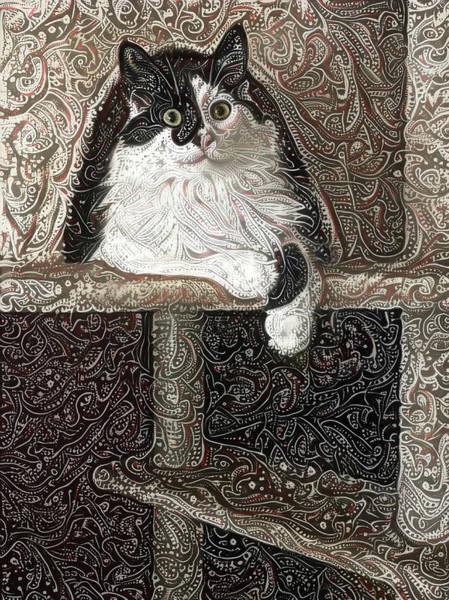 Digital Art - Mr Pib Aka Pibster by Peggy Collins