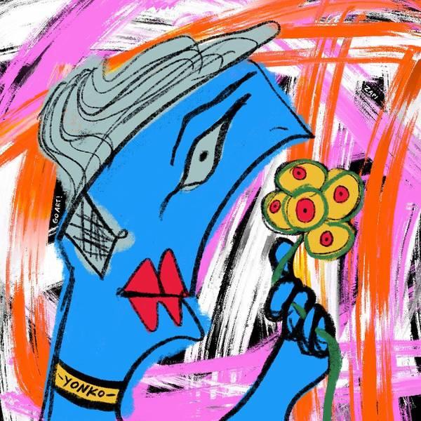 Painting - Mr. Yonko Eighteen  by Yonko Kuchera