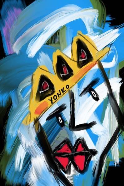 Painting - Mr. Yonko One by Yonko Kuchera