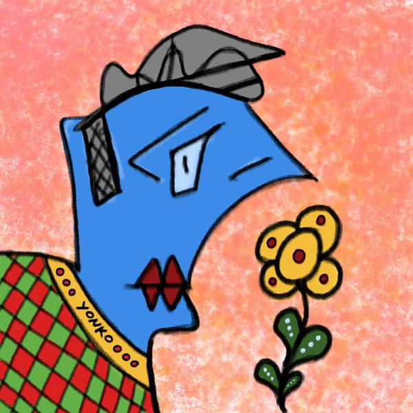 Painting - Mr. Yonko Thirty  by Yonko Kuchera