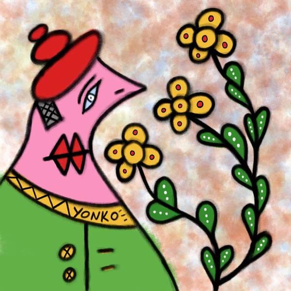 Painting - Mr. Yonko Twenty Nine  by Yonko Kuchera