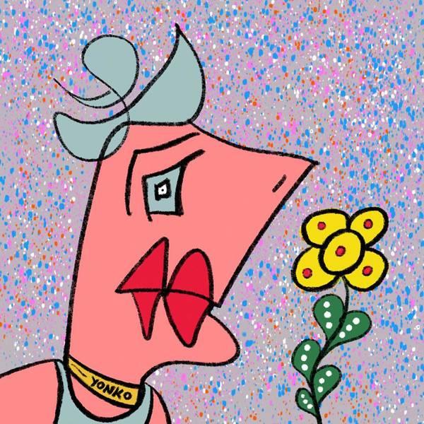 Painting - Mr. Yonko Twenty One by Yonko Kuchera