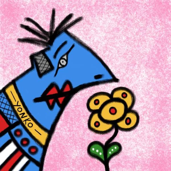 Painting - Mr. Yonko Twenty Eight  by Yonko Kuchera