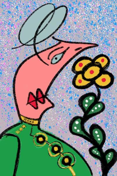 Painting - Mr. Yonko Twenty Two by Yonko Kuchera