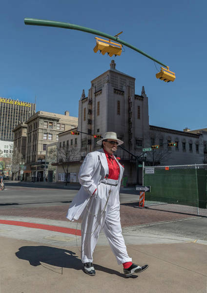Downtown El Paso Photograph - Mr. Zoot by Ken Blystone