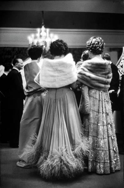 Photograph - Mrs. Carmine G. De Sapiomrs. Samuel by Alfred Eisenstaedt