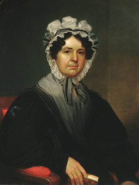 Painting - Mrs. Gideon Tucker by William Sidney Mount