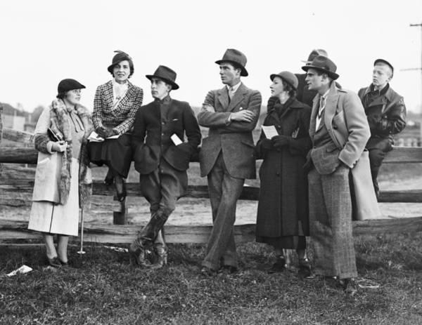 Pickering Photograph - Mrs John V Bouvier IIi, Mr And Mrs by Bert Morgan
