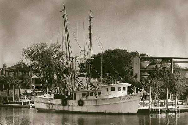 Photograph - Mrs Judy Too - Shrimp Boat by Dale Powell