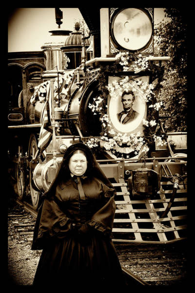 Wall Art - Photograph - Mrs Lincoln With Funeral Train by Paul W Faust - Impressions of Light