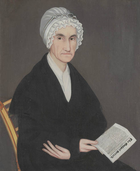 Wall Art - Painting - Mrs. Reuben Allerton by Ammi Phillips