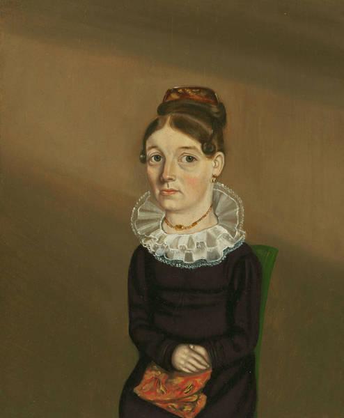 Painting - Mrs William Bonham by William Bonnell