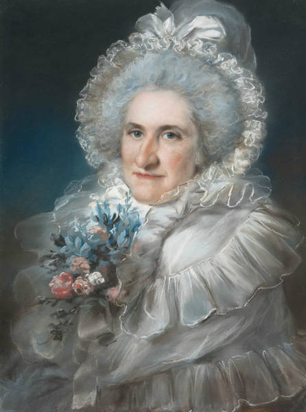 Wall Art - Pastel - Mrs. William Man Godschall by John Russell