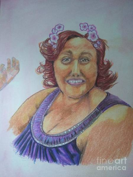 Wall Art - Pastel - Ms. Felicia by William Bryant